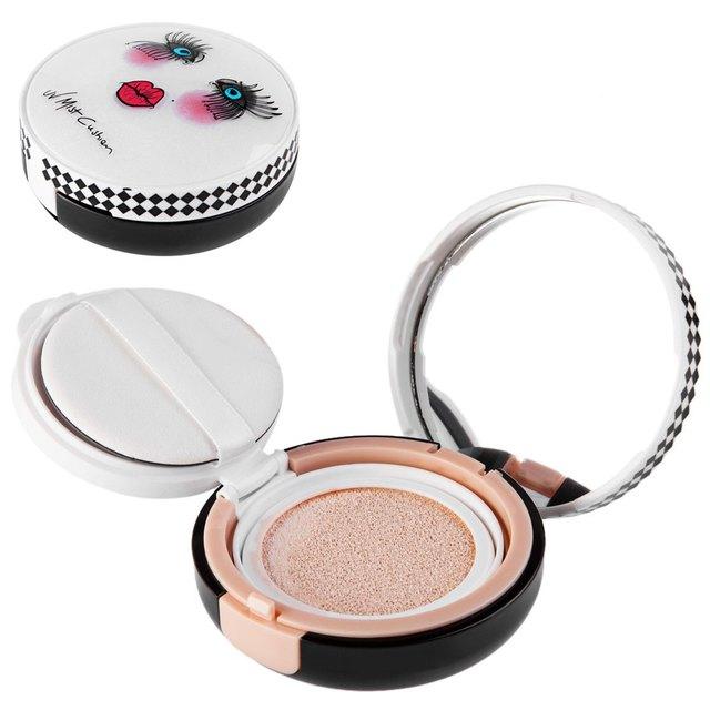 3 Cor Natural Brilhante Luz Almofada de Ar Cc Creme Skincare Fundação de longa Duração Maquiagem Cc Creme Para Profissional Ou Em Casa Use1