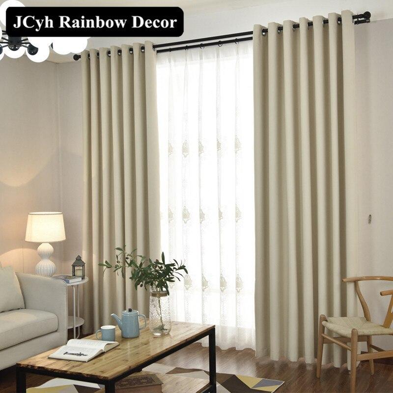 Moderne Solide Blackout Vorhänge Für Fenster Jalousien Stoffe Fenster  Vorhänge Für Wohnzimmer Das Schlafzimmer Behandlung Cortina Para Sala