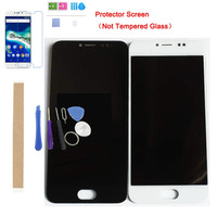 5.0 Inch Black White Color For General mobile GM 6 GM6 LCD Display With Touch Sensor Digiziter Assembly With Kits