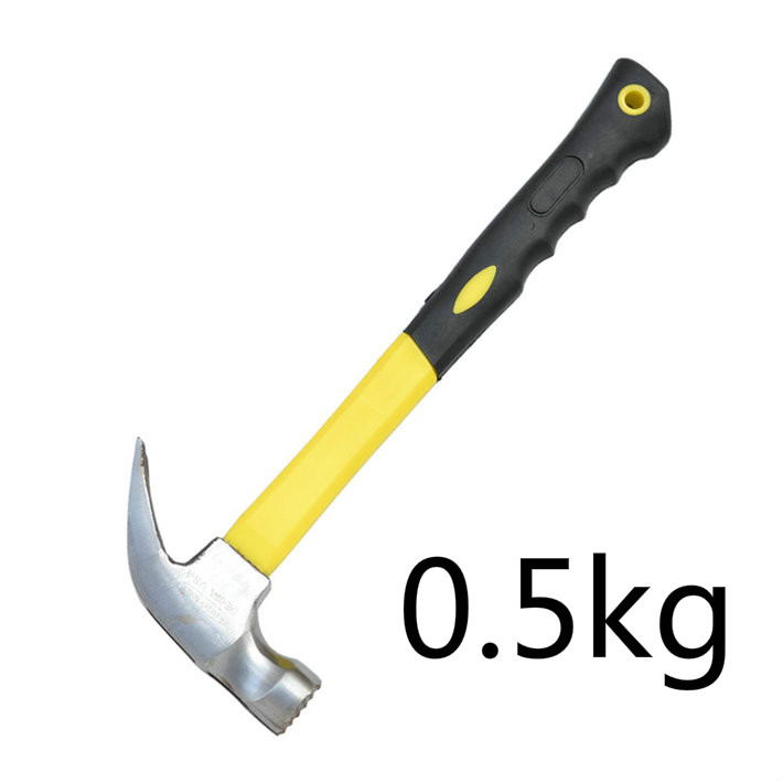 1pcs 0.5kg Anti Slip Claw Hammers's Hammer Claw Hammer Non Slip Hammer Face Use More Convenient  цены