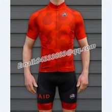 KOM red cycling set summer men tights triathlon suit  MTB bike jersey bib shorts gel pad 2019 pro team clothing custom bicicleta
