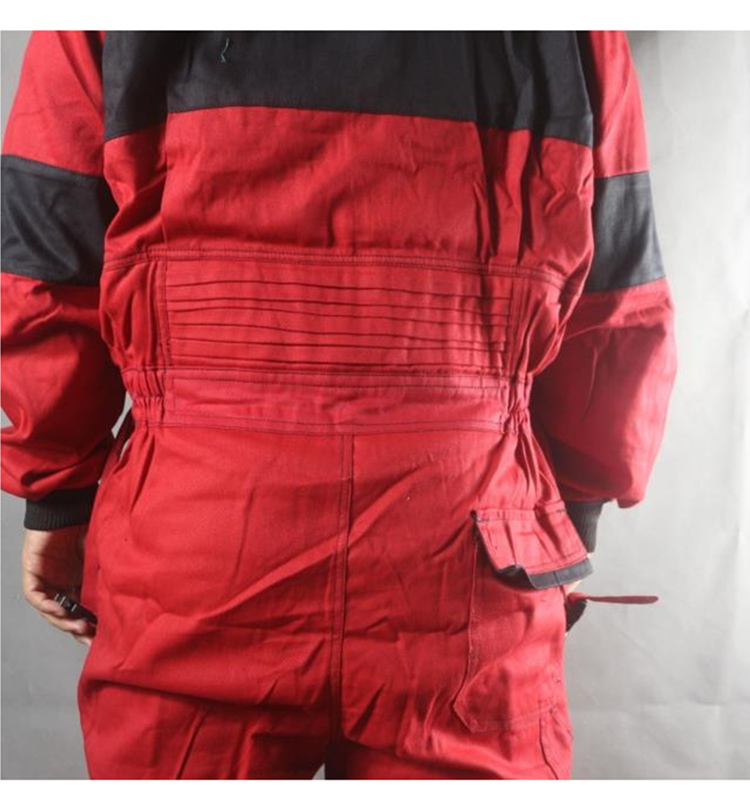 Work Coveralls Welding Fireproof Work Clothing Long Sleeve Overalls For Worker Repairman Machine Auto Repair Factory Uniforms (13)
