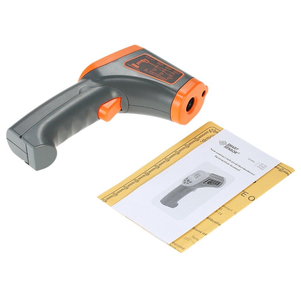 50~950°C Termómetro Infrarrojo Industrial Laser -58~1742°F Probador Digital