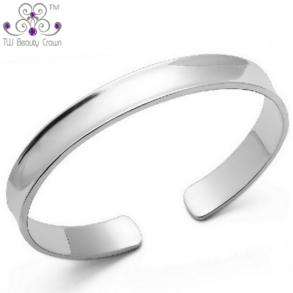 plain polished silver thin bling bracelet stackable az jewelry sterling jb bangles bangle appl
