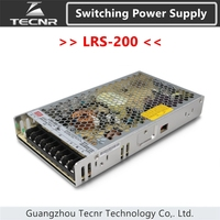 Original Taiwan Meanwell LRS 200 Switching Power Supply MW 12V 15V 24V 36V 48V 200W