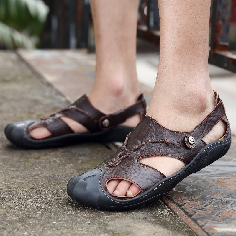 Summer men shoes new style high quality breathable sandals men casual slip on beach flip flops home outside male slippers uexia new men sandals summer style men beach shoes hollow slippers hole breathable flip flops non slip sandals men clogs outside