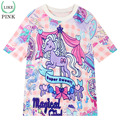 LIKEPINK New 2017 Summer Tops Women T-shirts pony Pattern haut femme T Shirt Short Sleeve  tee shirt femme Pink Tees