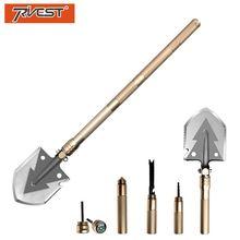 Multifunctional Military Shovel Folding Pocket Knife Survival Shovel Outdoor Camping Gardening Plant Tools Golden Multitool цена