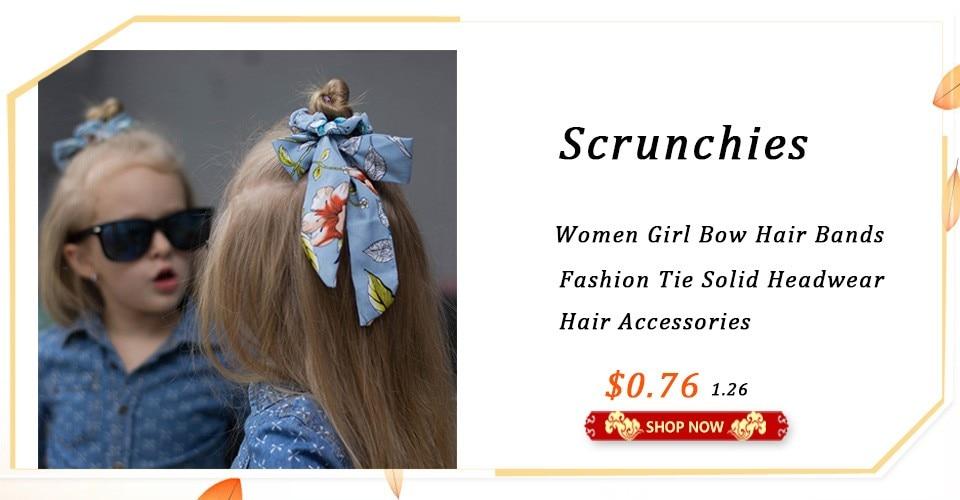 e28166aeca681 1pc Headband For Women Knot Bow Hair Hoop Bands Solid Color Cloth Silky  Fabric Rabbit Ear Head Hoop Girls Headwear Top Quality
