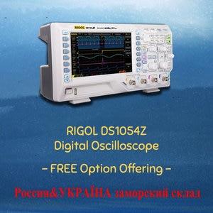Image 1 - RIGOL DS1054Z 50MHz הדיגיטלי אוסצילוסקופ 4 ערוצים אנלוגיים 50MHz רוחב פס