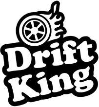Car styling decals JDM drift king iii 13.8cm x 13cm reflective waterproof  vinyl stickers for motorcycle truck цена и фото