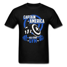 Captain America Falcon T Shirt Newest Cool Fashion Tees For Men Bucky Agent Steve Rogers T-Shirt Men's Shield Tshirt Marvel(China)