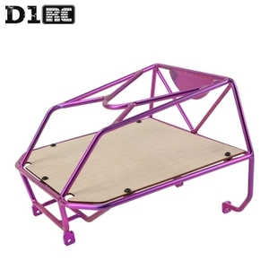 Image 3 - D1RC Original High Quality Metal Bucket Roll Cage back cage For Axial AX80046 SCX10 AX90022 Crawler RC