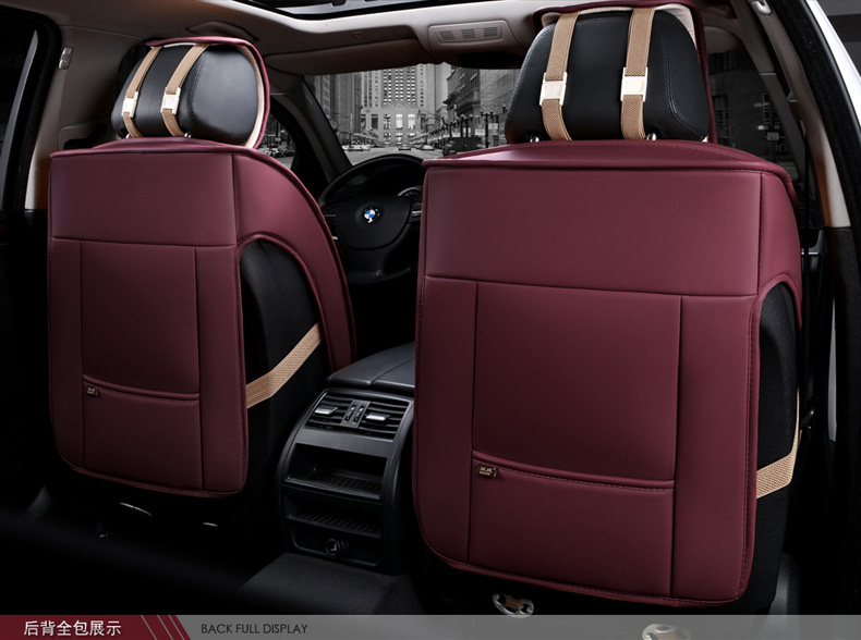 HD WATERPROOF SINGLE FRONT BLACK SEAT COVER  for VW TIGUAN