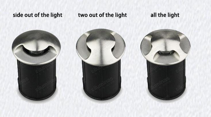 CP 3 W LED light underground levou