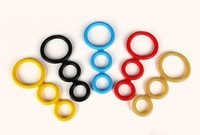 Silicone Penis Rings 4 Colors For Choose Cock Ring Delayed Ejaculation Cock Cage