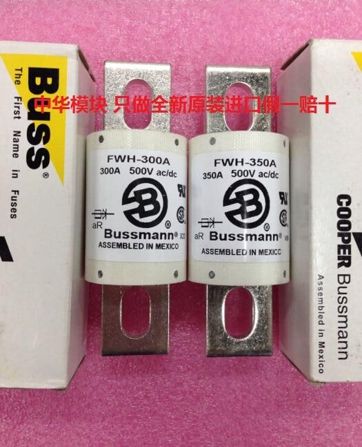 FWH-300-un FWH-350-un 500 v AC/DC d'assurance tube BUSSMANN nouvelle d'origine faux une compensation dix