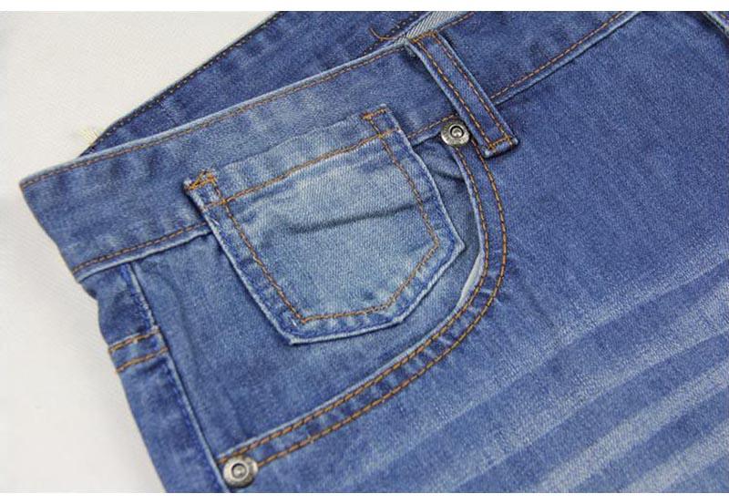 Широкие брюки прямые мужские джинсы-шаровары Хип-хоп Denim Joggers Брюки Свободные мешковатые скейтборд брюки