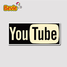 Bevle 3232 Youtube Video Web Waterproof Fashion Cool DIY Notebook Stickers Laptop Luggage Fridge Car Graffiti Cartoon 3M Sticker