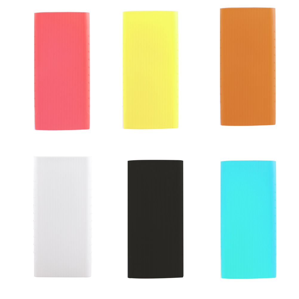 Silicone Case for Xiaomi Power Bank New 2 Generation 10000mAh PLM09ZM Rubber Shell Cover Bags for Portable External Battery Pack image