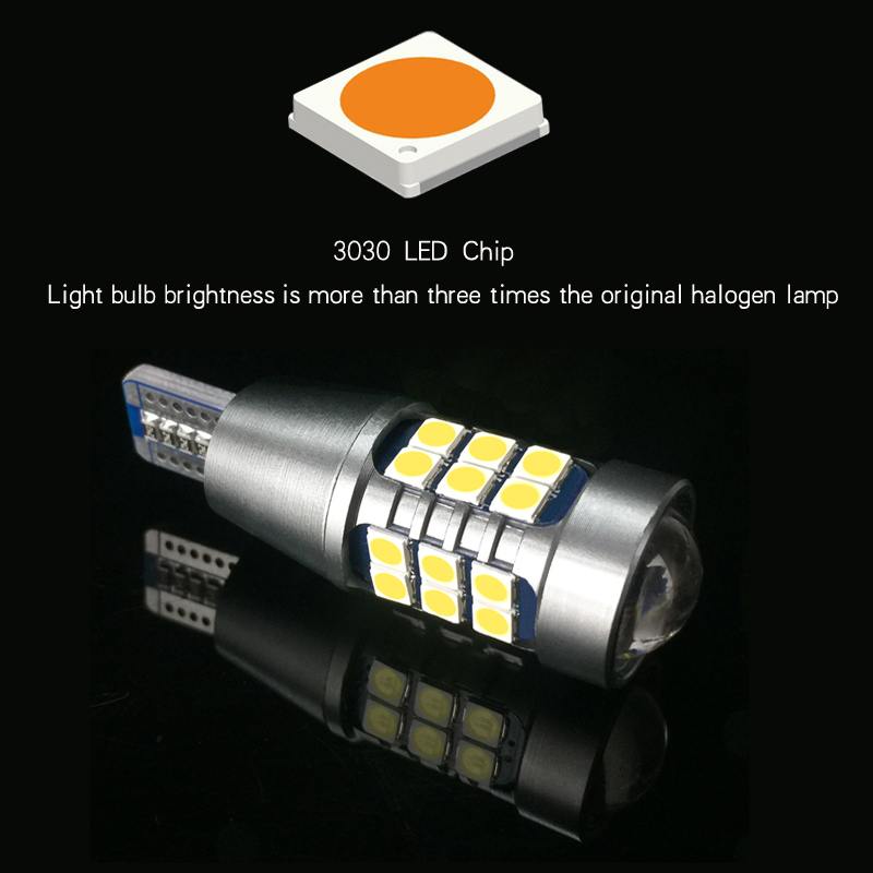 2x W16W 921 T15 P21W 1156 Canbus Car LED Backup Light Auto Reverse Lamp Bulb For Skoda Superb Octavia A7 A 5 2 Fabia Rapid Yeti