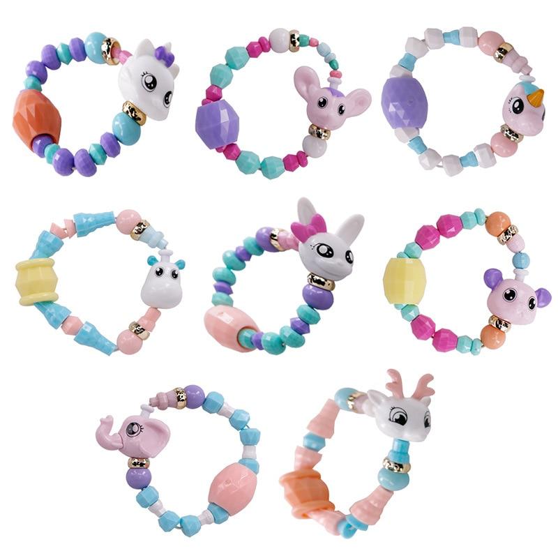Unicorn Bracelets Jewelry Animal Girl Children for Tricks Creative Toy Surprise DIY