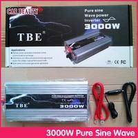 Car Power Inverter 3000W DC 12V AC 220V Pure Sine Wave USB Car Converter 3000Watt Off Grid Solar Power Inverter