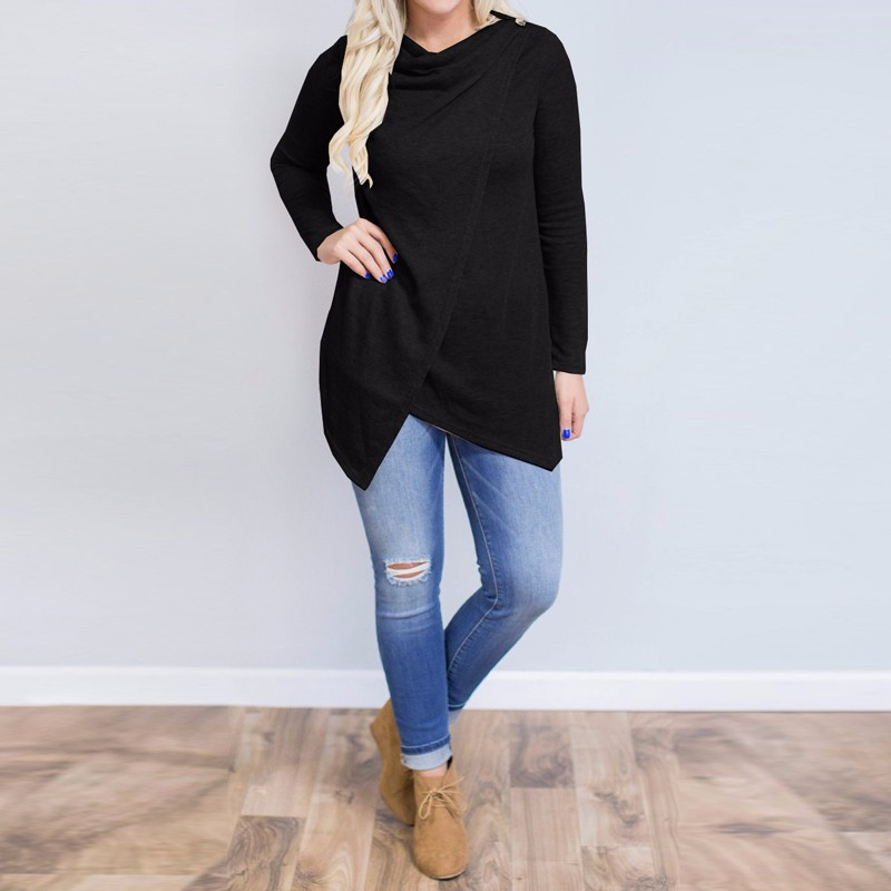HTB1x2JlOpXXXXcWapXXq6xXFXXXc - Women Cardigan Long Sleeve O Neck Casual Loose Blouses