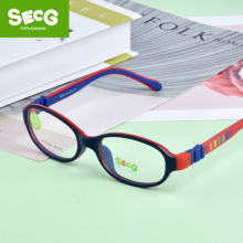 SECG 2018 TR90 Children Glass Child Frame Myopia Prescriptio