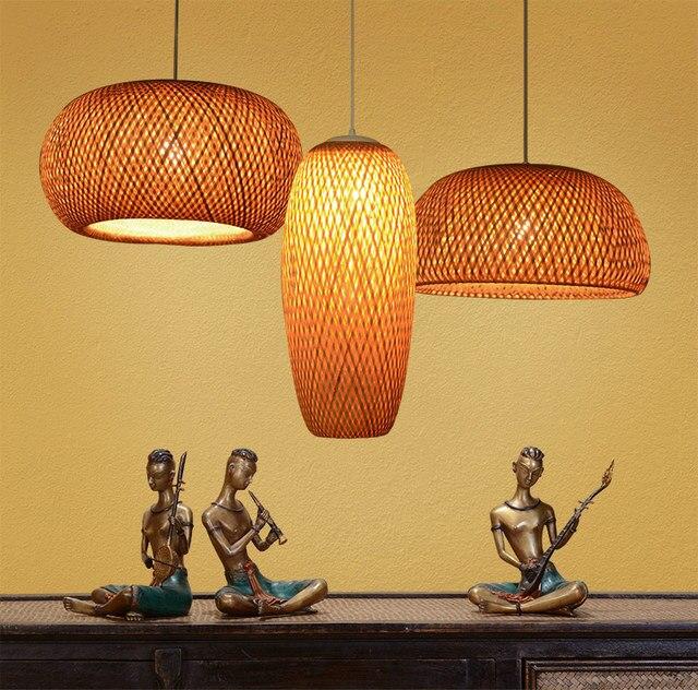 precio lámpara Mejor bambú colgantes chinas de Luces AR53jL4q