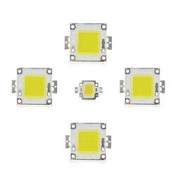 Белый/теплый белый 10W 20W 30W 50W 100W чип со светодиодной подсветкой AC/DC 12V 36V интегрированный в COB светодиодный светильник диоды для подавления пер...