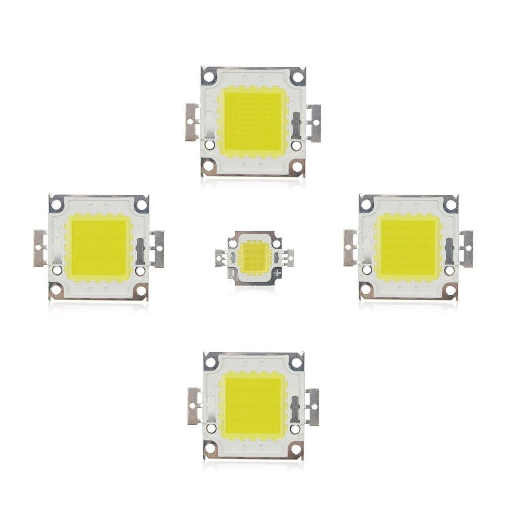Белый/теплый белый 10 Вт 20 Вт 30 Вт 50 Вт 100 Вт свет чип DC 12 В 36 В удара Встроенная светодиодная лампа Диоды DIY прожектор лампы