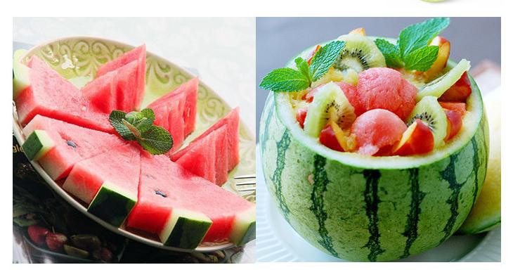 Watermelon cutter Convenient Kitchen cooking Cutting Tools Summer Watermelon Slicer Cantaloupe Knife Fruit Cutter
