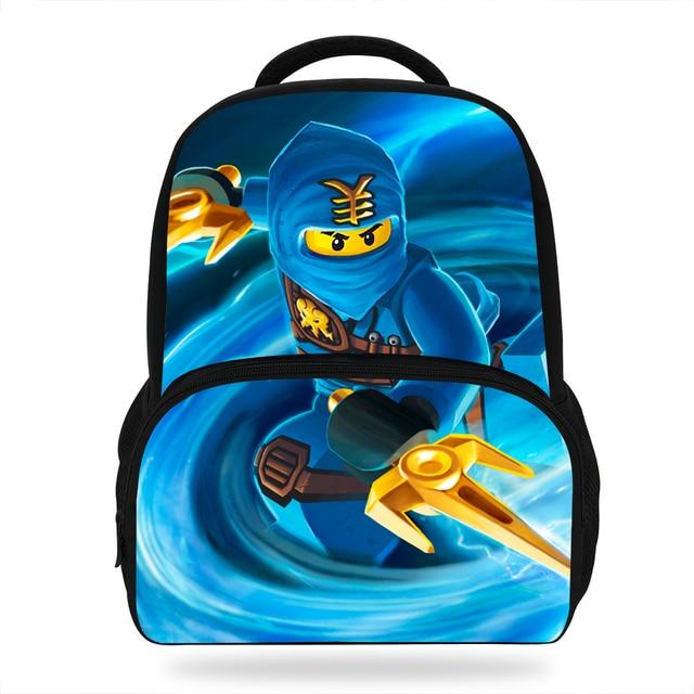 6f9f707b0ed 14 inch Leuke Mochila Ninjago Schooltas Voor Jongens Boekentas Kids Rugzak  Cartoon Kungfu Kinderen Tas Voor