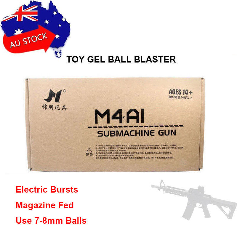 Zhenduo juguete Jinming 8 M4A1 Gel bola B arma envío gratis