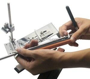 Image 2 - مسن سكاكين من الفولاذ المقاوم للصدأ ، مسن سكاكين مطبخ احترافي ، زاوية تثبيت ثابتة مع الأحجار