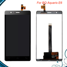 Black Full LCD For BQ Aquaris E6 LCD Display Screen with Touch Screen Digitizer Assembly Fast Shipping