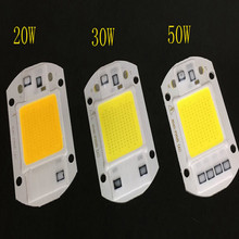 AC220V Dont need to driving led chip 220v 20W 30W 50W free shipping
