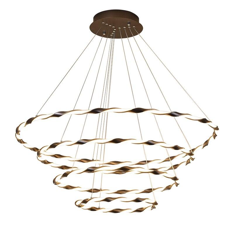 Modern Circle rings LED Pendant Lights indoor Lighting For Living Room Dining room LED Pendant Lamp Hanging Lights цена 2017