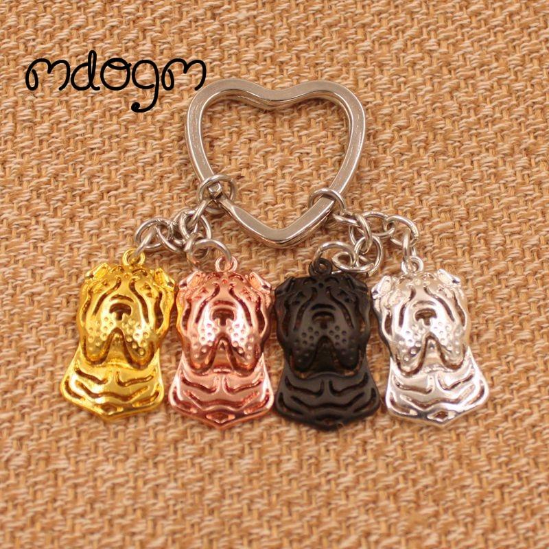 2019 Chinese Shar Pei Dog Animal Purse Handbag Charm Handmad Pendant Keychain For Bag Car Women Men Girls Boys Love Jewelry K038