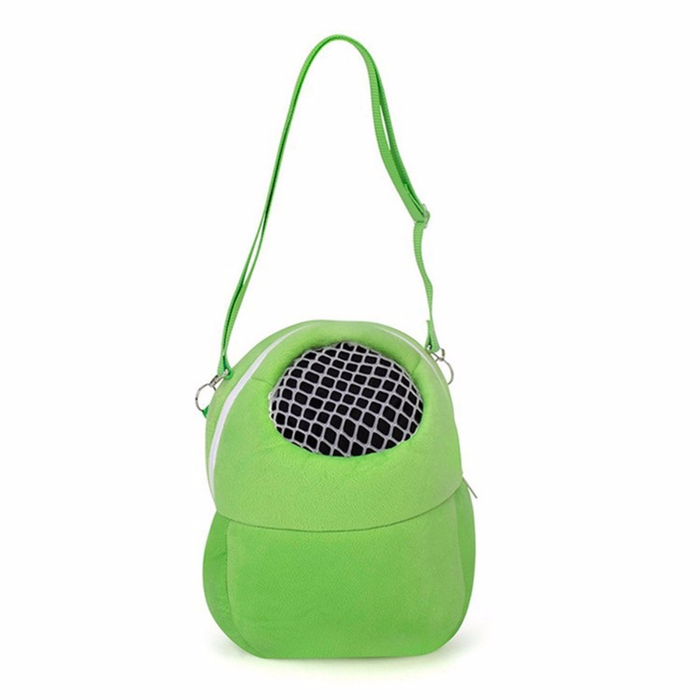 Portable Small Pet Carrier Bag Guinea Pig Rabbit Hamster Puppy Cat Sleeping Hanging Bag Pocket Outdoor Carry Tool For Chihuahua in Cages from Home Garden