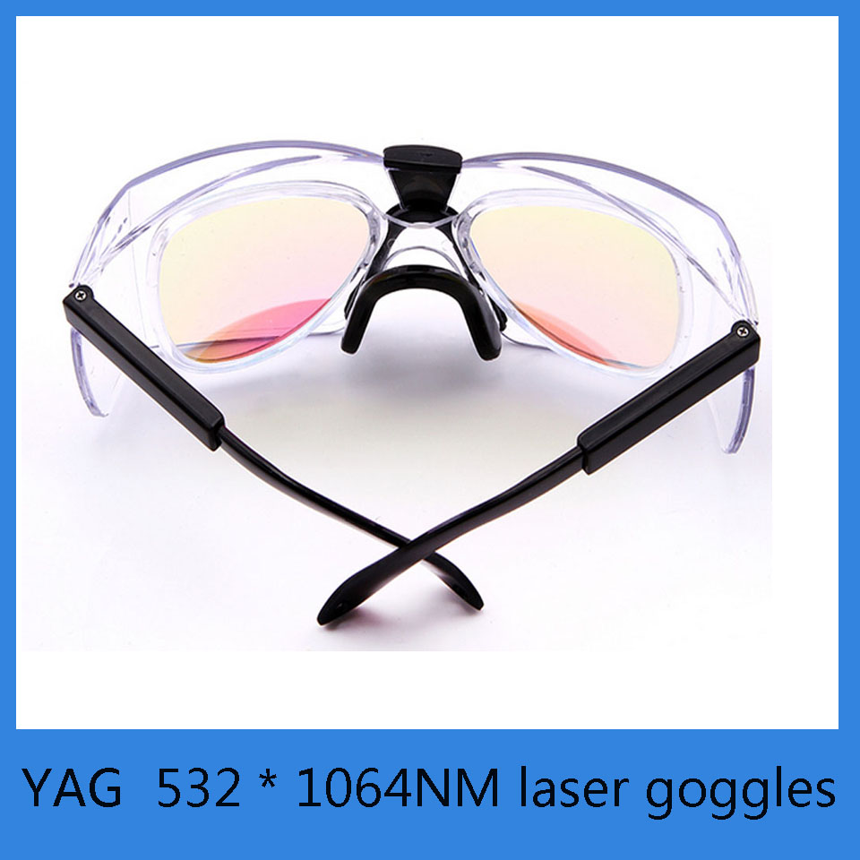 532 * 1064NM laser goggles YAG laser marking machine cutting machine protective glasses goggles laser welding cutting engraving machine laser protection lens 1064nm yag 39 1 5