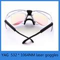 532 * 1064NM laser goggles YAG laser marking machine cutting machine protective glasses goggles