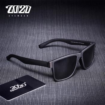 Classic Black Frame Polarized Sunglasses