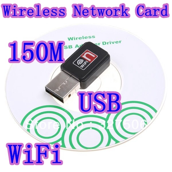 Mini 150M USB WiFi Wireless Network Card 802.11 n/g/b LAN Adapter,Free Shipping