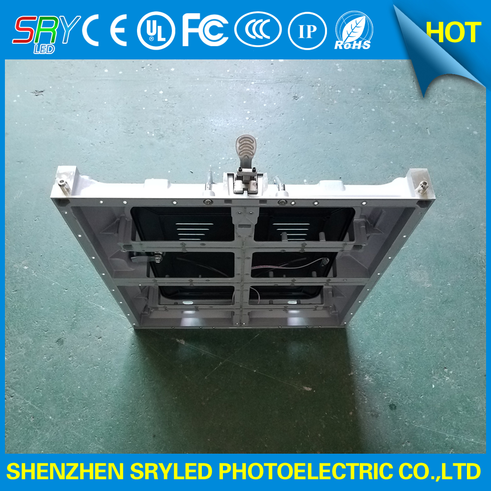 Indoor p4 512x512mm empty die casting aluminum cabinet frame for 256x128mm p4 china