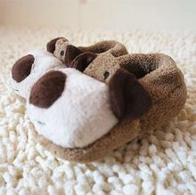 Winter Baby Boys Girls Shoes Warm Plush Booties Infant Indoor Crib Shoes Walker Baby Carton Toddler shoes funny home slippers