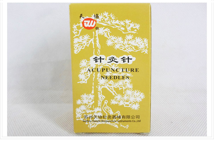 1000pcs reusable silver surface acupuncture needle Genuine tianxie acupuncture needles non disposable 200pcs box