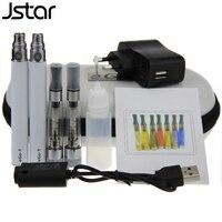 5pcs Lot Jstar Ego CE5 Kits 650mah 900mah 1100mah Electronic Cigarette E Cigarette Colorful Atomizer Colorful