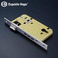 Stainless Steel 85X60 Lock Hardware Door Split Lock Body Wooden Door Lockcase Metal Square Panel